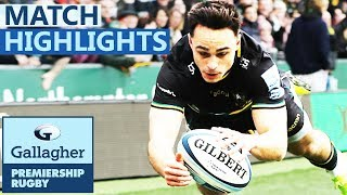 Northampton 67-17 Sale | Northampton Put 9 Tries Past Sale | Gallagher Premiership - Highlights