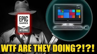 The Epic Games Store May Be Spying On You...