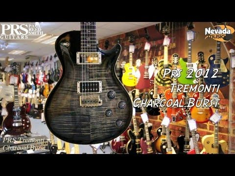PRS Tremonti 2012 in Charcoal Burst - Quick Look @ Nevada Music UK