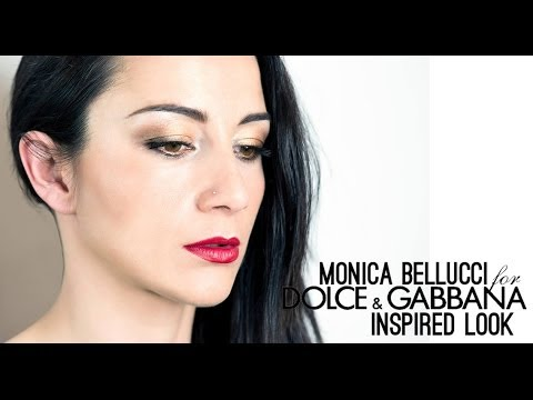 Monica Bellucci for DOLCE e GABBANA inspired LOOK