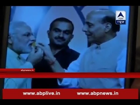 BJP alleges picture of PM Modi and Rajnath Singh is morphed