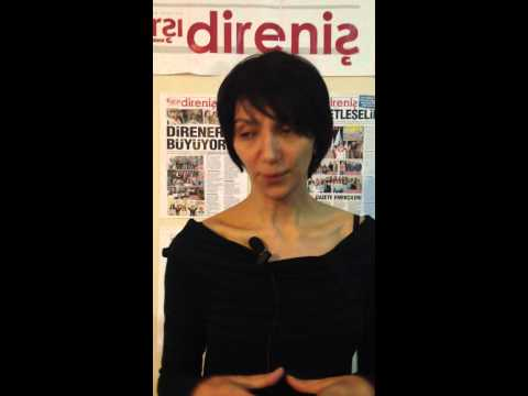 Intervista a giornalista KARSI DIRENIS, Istanbul