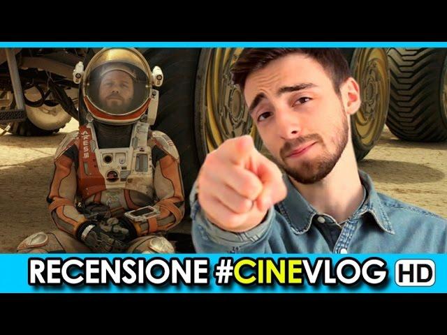 RECENSIONE - Sopravvissuto: The Martian Trailer #CineVlog
