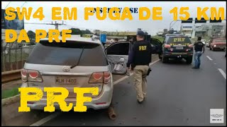 SW4 ROUBADA EM FUGA DE 15 KM DA  PRF