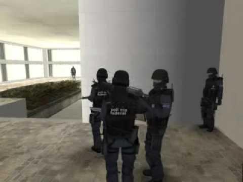 operativo de la policia federal en una narco mansion
