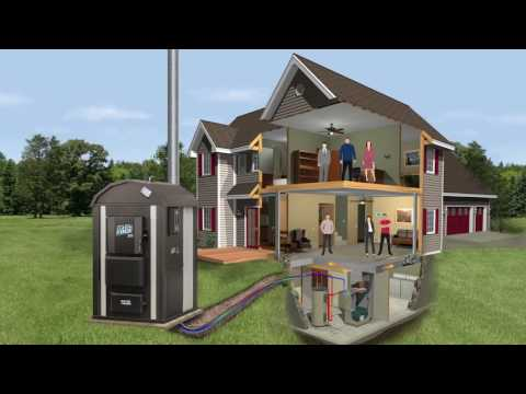 How a Central Boiler Outdoor Wood Furnace Works │Central Boiler