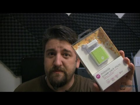 Motorola Power Pack Micro: Unboxing and First Impressions