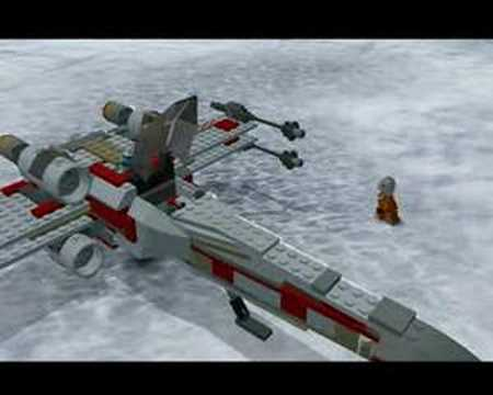 Star Wars Episode V The Empire Strikes Back In Lego part 1