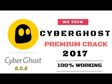 CYBERGHOST VPN 6.0.8 PREMIUM CRACK FOR LIFETIME|| FREE DOWNLOAD TUTORIAL! 2017