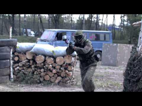 Пейнтбол в Видном/ Paintball in Russia