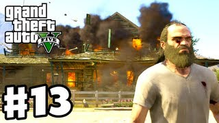 Grand Theft Auto 5 - Gameplay Walkthrough Part 13 - Blowing Up a Meth Lab! (GTA 5, Xbox 360, PS3)