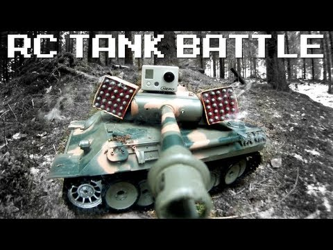 RC TANK BATTLE - RCExplorer.se