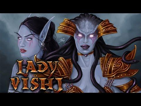 Змеиное Святилище - История Леди Вайш, наг и войны древних