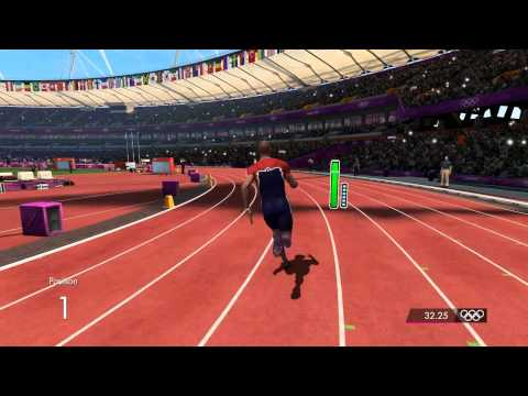 London 2012: The Official Video Game - Men's 400m