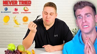This Guy Has NEVER Tried FRUIT..Until RIGHT NOW!