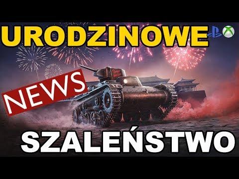 News !!! Urodzinowe szaleństwo Darmowy czołguś World of Tanks Xbox One/Ps4