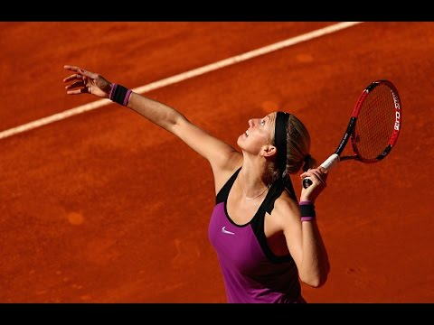 2016 Mutua Madrid Open Second Round | Petra Kvitova vs Elena Vesnina | WTA Highlights