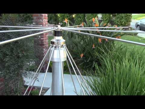 AE6LX Installs a Jetstream Discone VHF/UHF Antenna