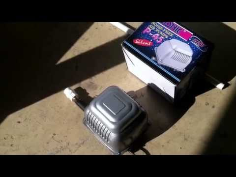Aquaponics Commerical Air Pump Review - We found a quiet one!