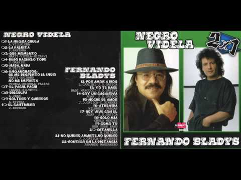 EL NEGRO VIDEO & FERNANDO BLADYS EX CHEBERE) CD ENTERO DOBLE