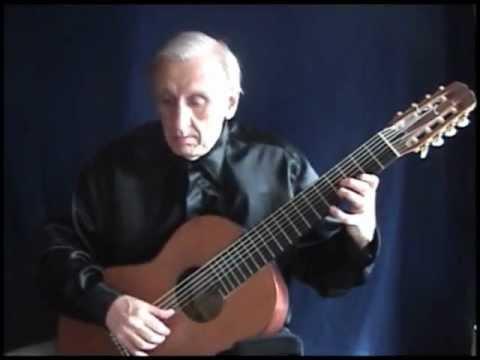 Pezzo Tedesco 8 string guitar by Cesar Amaro