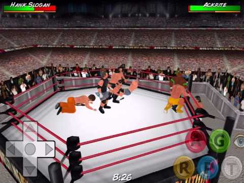 10 Man TNA Royal Rumble - Wrestling Revolution 3D