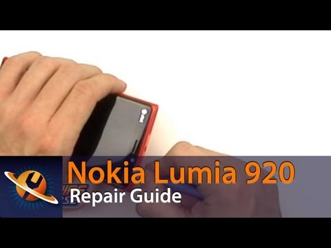 Nokia Lumia 920 Screen Take Apart Repair Guide