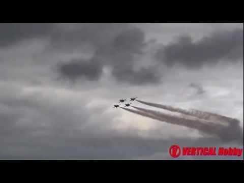 Turku Airshow 2011, F-16 (RNLAF), Midnight hawks (FAF), Thunderbirds (USAF)