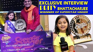 INTERVIEW With Priti Bhattacharjee - WINNER of Superstar Singer  GRAND Finale | Wins 15 Lac Rupees