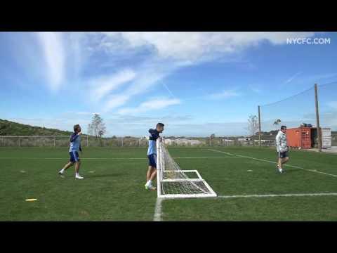 Soccer Tennis: Pirlo/Martinez vs. Wilson/Lattanzio