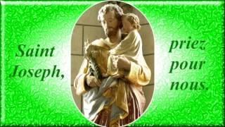 En l'honneur de St Joseph (1) (cantique de St Louis-Marie Grignion de Montfort)