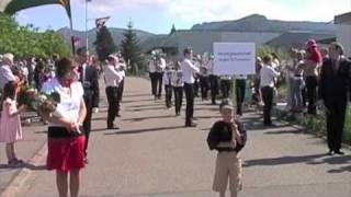 MG Nuglar-St.Pantaleon,  Marschmusik 2010
