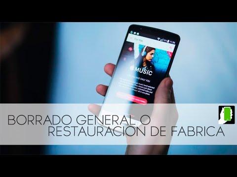 LG X CAM  Borrado General O Restauracion De Fabrica HD