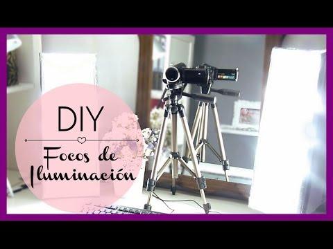 DIY - Focos de Iluminación profesional caseros!