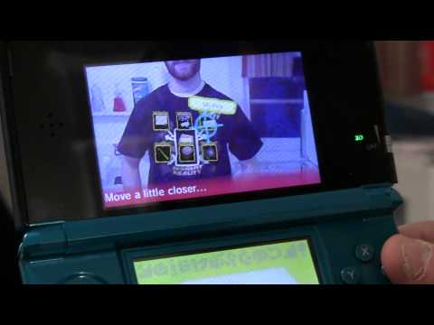 Level Up Studios - Nintendo 3DS AR Shirt Test [Uncut]