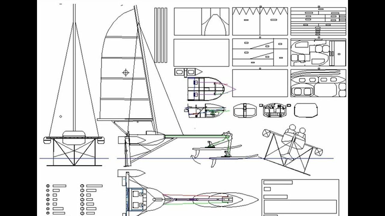 "Hydrofoil Sailboat Design Montage ""Valkyrie"" - YouTube"
