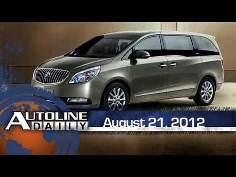 Chinese Executives Prefer Minivans - Autoline Daily 954