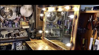 Making a Dressing Table from Pallets
