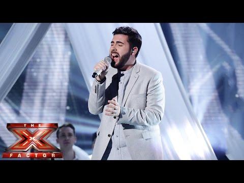 Andrea Faustini X Factor semi-final O Holy Night