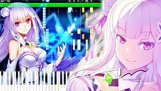 Re:Zero Kara Hajimeru Isekai Seikatsu ED『STYX HELIX』Piano Tutorial『Re:ゼロから始める異世界生活』ピアノ