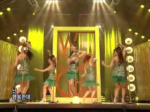Wondergirls - Nobody (원더걸스-노바디) @SBS Inkigayo 인기가요 200801012