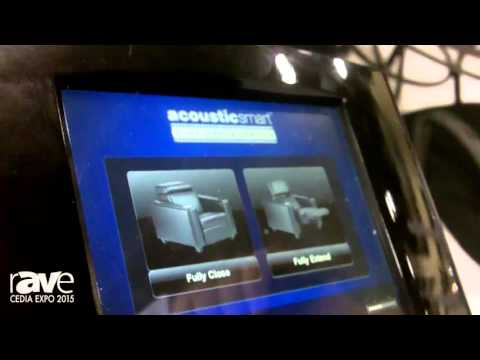 CEDIA 2015: Acoustic Smart Showcases Automated Transformer Chair