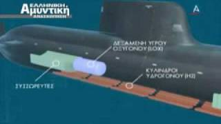 GREEK NAVY U-214 SUBMARINE