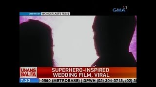 UB: Superhero-insprired wedding film, viral
