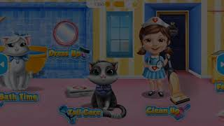 Fun Care Kids Games   Sweet Baby Girl Cat Shelter   Adopt and Take Care of Cute and Furry kittens