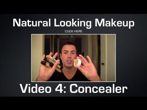 Natural Looking Makeup for Men: Concealer