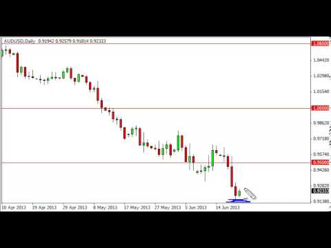 AUD/USD Technical Analysis for June 24, 2013 by FXEmpire.com