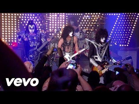 Kiss - Detroit Rock City (live On Letterman 2012) video