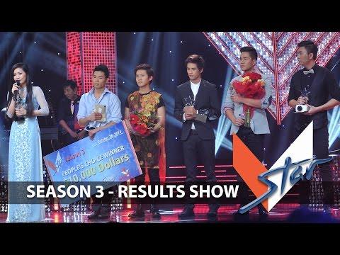 VSTAR Season 3 - RESULTS SHOW (Full Program)