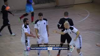 Highlights | Food Centre-СумДУ 4-4 АРПИ Запоріжжя | Кубок України 2018/2019. 1/8 фіналу